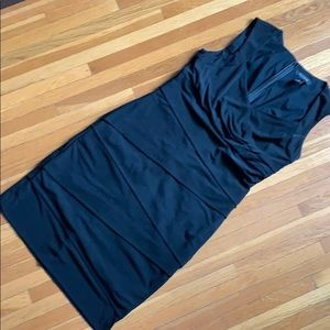 Black Tiered Body-con Dress